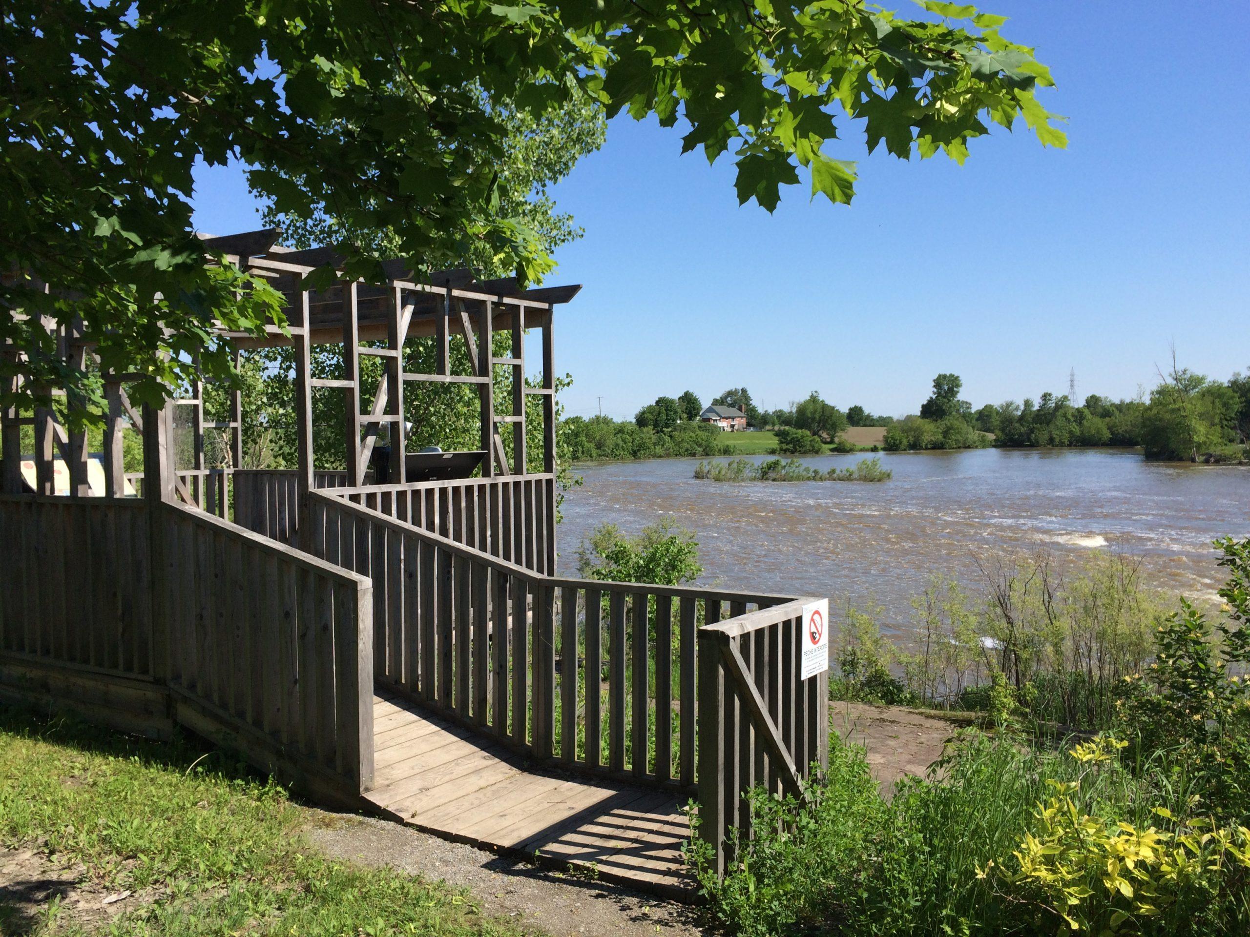 Parc du Domaine-de-la-Pêche-au-Saumon – Secteur Nord